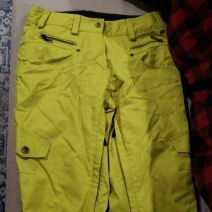 Size 4 wemon snowboarding pants